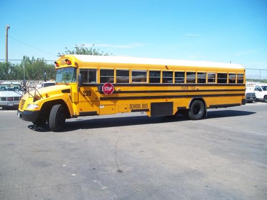 installation of Dieselmaxx/Gasmaxx on a School Bus